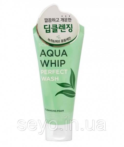 Глубокоочищающая пенка Scinic Aqua Whip Perfect Wash, 120 мл