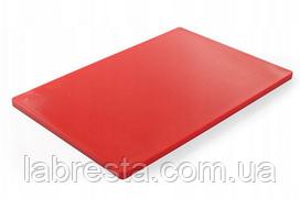 Доска разделочная Hendi 825617 HACCP 600x400 мм - красная