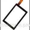 Сенсор (тачскрин) Bravis (226*132) WXi89 3G тип 1 (DXP2-0356-090A) чёрный
