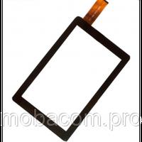 Сенсор (тачскрин) Bravis (226*132) WXi89 3G тип 1 (DXP2-0356-090A) чёрный, фото 1