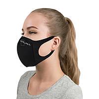 Многоразовая защитная угольная маска ULKA (Черная)