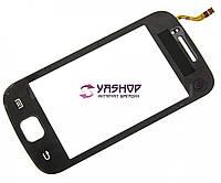Сенсор (тачскрін) Samsung S5660 чорний