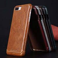 Чехол-бампер Pierr Cardin для iPhone 7 коричневый