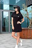 Жіноче стильне плаття-поло у спортивному стилі (в кольорах), фото 5