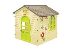 Детский игровой домик для детей Mochtoys Бабочки с цветами