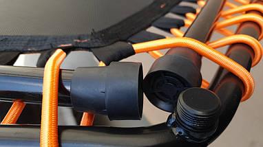 """Батут фитнес с ручкой IronMaster для джампинг фитнеса  50"""" 126 см, фото 3"""