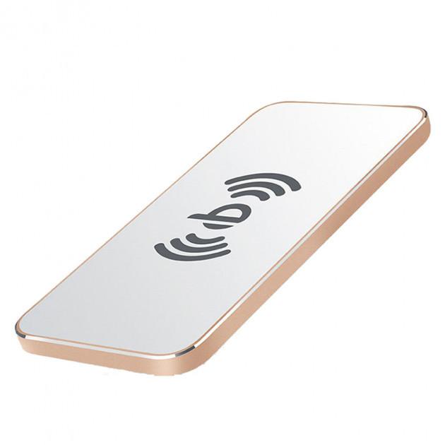 Бездротовий зарядний пристрій Awei W1 5V/1A White-Gold