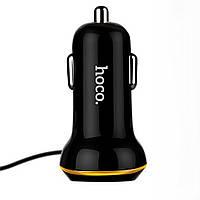 Автомобільний зарядний пристрій HOCO Z14 1USB/3,1A + Lightning Black