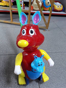 Каталочка кенгуру красная