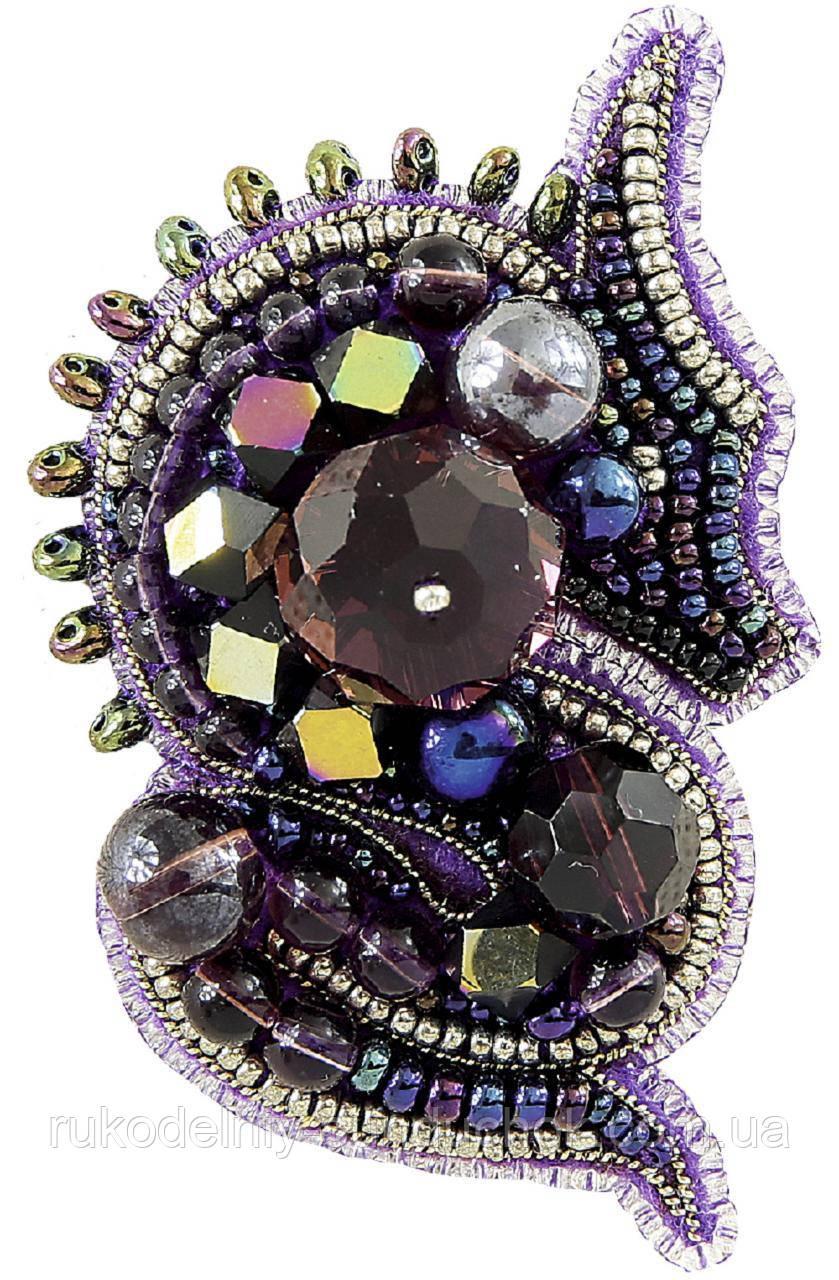 """Набор для изготовления броши Crystal Art """"Дракон"""" БП-268"""