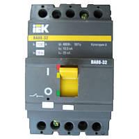 Автоматический выключатель ВА88-32 100А 3Р 25кА IEK
