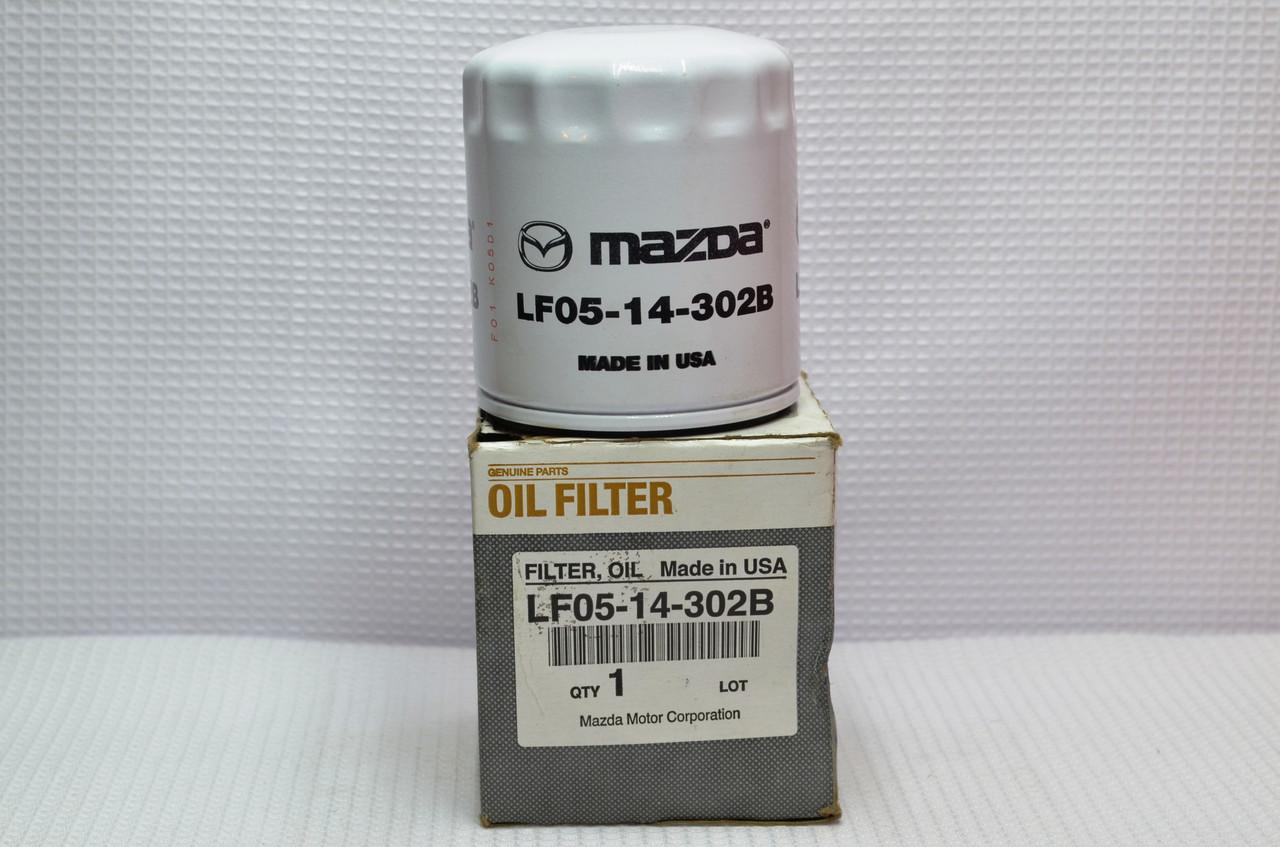 Оригинальный масляный фильтр MAZDA  LF05-14-302