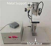 Ультразвуковой аппарат для точечной сварки медицинских масок с металлическим рабочим столом