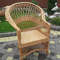 """Плетеное кресло из лозы """"Простое"""""""