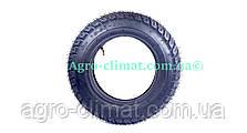 Резина на скутер 3.50-10 с камерой 6 PR шипованная, фото 2
