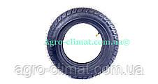 Резина на скутер 3.50-10 с камерой 6 PR шипованная, фото 3