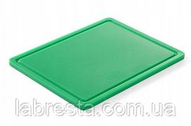 Доска разделочная Hendi 826133 HACCP GN 1/2 - зелёная