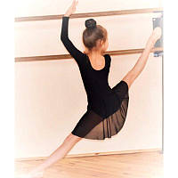 Купальник с юбкой для гимнастики, танцев