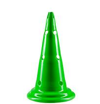 Фішки (конуси) розмічальні з отворами H=38см. Жовтий, оранжевий, зелений. 1 шт., фото 2