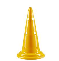 Фішки (конуси) розмічальні з отворами H=38см. Жовтий, оранжевий, зелений. 1 шт., фото 3