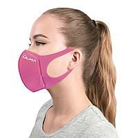 Многоразовая защитная угольная маска ULKA (Розовая)