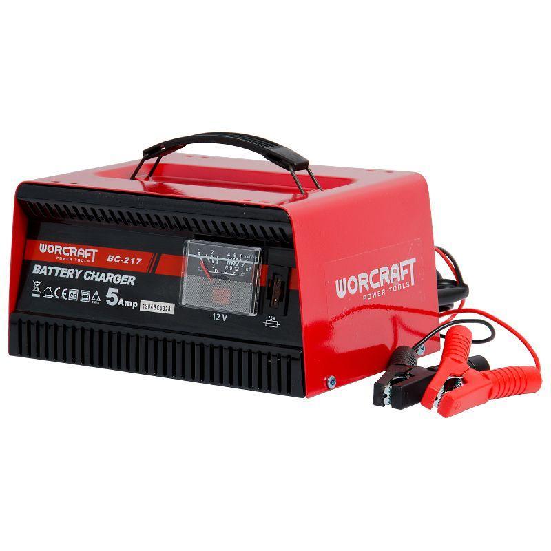 Зарядний пристрій для автомобільних акумуляторів Worcraft BC-217
