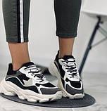 Кроссовки женские на платформе. Экокожа + текстиль . Размер 36 - 40., фото 4