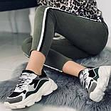 Кроссовки женские на платформе. Экокожа + текстиль . Размер 36 - 40., фото 6