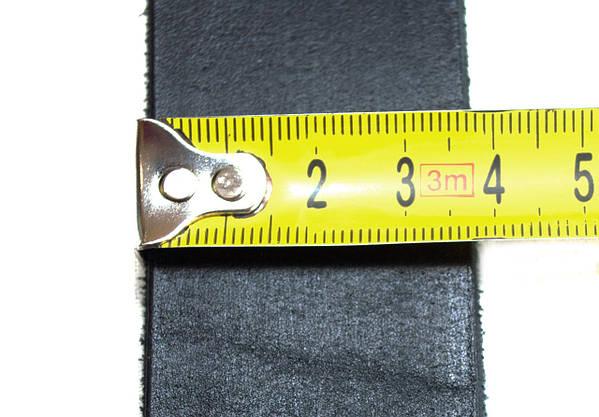 Шкіряний чоловічий ремінь Armani25п-1 (копія), фото 2