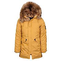 Зимова жіноча куртка аляска Alpha Industries Altitude W Parka WJA44503C1 (Tumbleweed)
