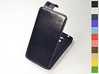 Откидной чехол из натуральной кожи для Huawei Nova Smart