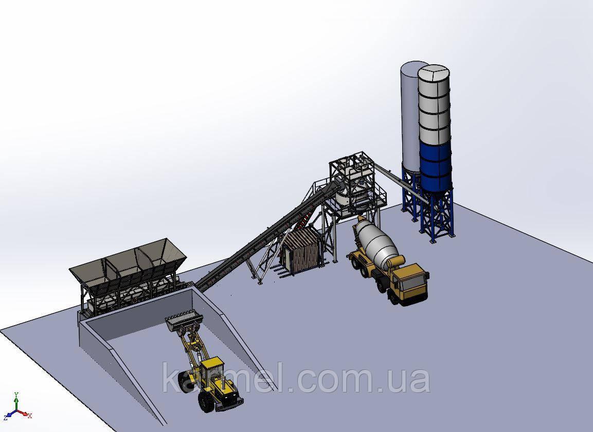 Грунтосмесительная установка для ЩПС KARMEL 90 тон/час