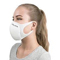 Многоразовая защитная угольная маска ULKA (Белая)