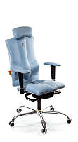 Ортопедическое Офисное Кресло «Elegance» Kulik System НЕБЕСНЫЙ
