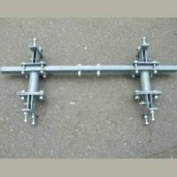 Сцепка двухрядная Люкс-Агро двухсторонняя к тележке-адаптеру