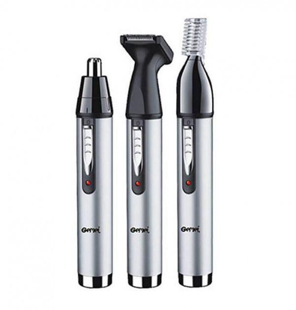 Триммер 3 в 1 Progemei Gm-3107 для удаления волос из носа и ушей окантовки бровей