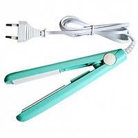 Мини утюжок гофре для волос щипцы Pro Mozer MZ 7052 Бирюзовый, фото 1