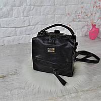 Сумка-рюкзак Fashion Lusha Компакт городская женская черная