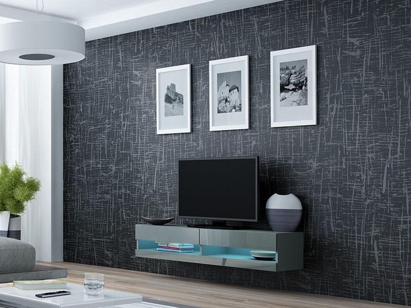 ТВ тумба RTV VIGO NEW 180 (сірий) (CAMA)