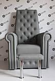 Педикюрное кресло трон Queen, фото 5