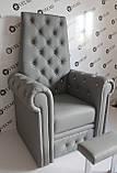 Педикюрное кресло трон Queen, фото 4