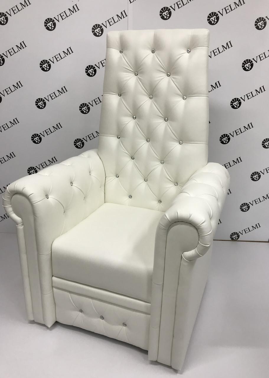 Педикюрное кресло трон Queen