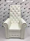 Педикюрное кресло трон Queen, фото 2