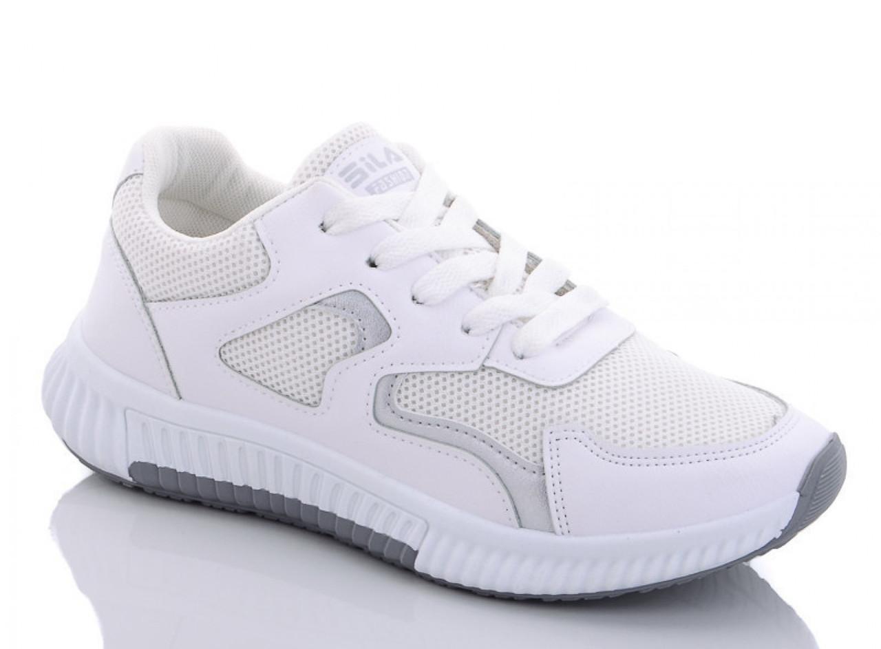 Кроссовки ILA Fashion женские белые 38 р. 25,5 см (1173173829)