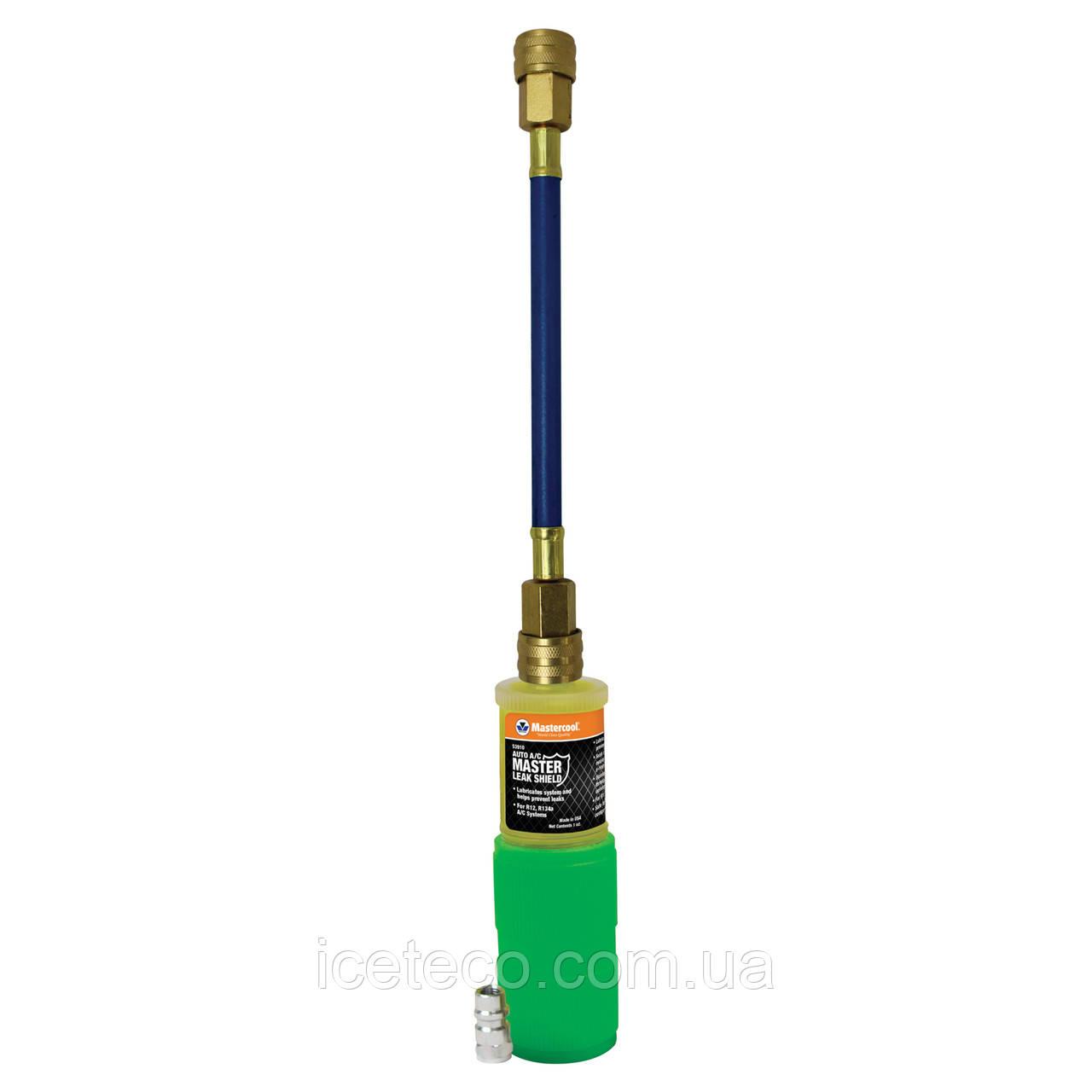 Детектор утечки фреона ультрофиолетовый с герметиком Master Leak Sheld в системе A/C МС 53909 Mastercool