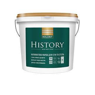 Kolorit History Напівматова інтер'єрна фарба / 4,5 л. / база А, фото 2