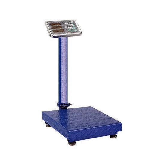Весы торговые напольные электронные Domotec ACS 40x50 350кг 6V Синий