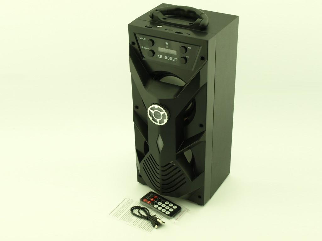Колонка-чемодан с караоке Kipo kb-500bt 10W Bluetooth пульт ДУ