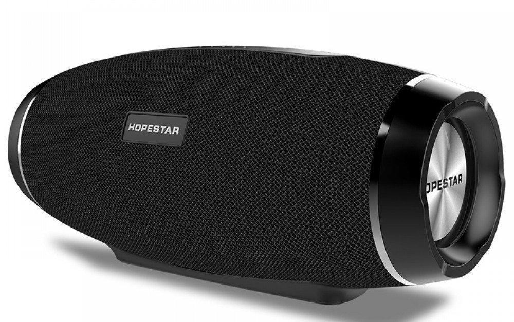 Портативная Bluetooth колонка HOPESTAR H-27 Pro Black USB, FM влагозащищенная,функция power bank