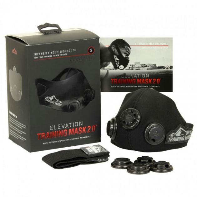 Тренировочная маска для дыхания Elevation Training Mask 2.0 размер S